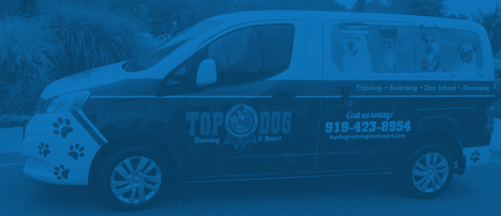 Top Dog Vehicle Wrap